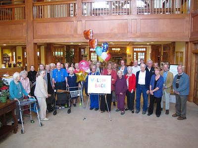 Geer Village News...Linda Pierce is back, Sept 24, 2012
