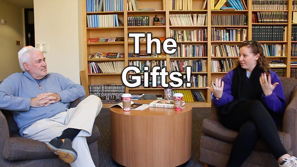 2) Gefen talks about... Channukah Gifts!