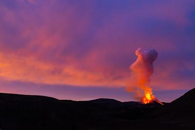 Eldgos í Fagradalsfjalli í Geldingadölum á Reykjanesi