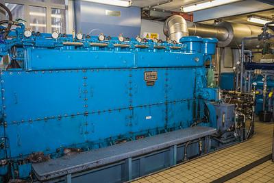 Diesel motor Boezemgemaal Spaarndam