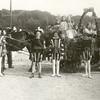 G1839 <br /> Edelknapen, v.l.n.r.: Jan Philippo, Harry Arendshorst, Cor Gouverneur, B. Philippo en Koos Koning. Foto: 1922.