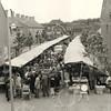 G1760 <br /> Het marktterrein op de Hortuslaan. De Hoofdstraat is op de achtergrond. Foto: in 1957 gemaakt vanaf de Westerstraat.