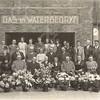G1756 <br /> Opening van het nieuwe bedrijfsgebouw voor het gas- en waterleidingbedrijf aan de Molenstraat. Op de eerste rij zit aan de linkerkant burgemeester J.P. Gouverneur.  Zie voor namen : G1756a. Foto: 1932.