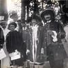 G1831 <br /> Het eeuwfeest 1813-1913, het onafhankelijkheidsfeest. Figuranten uit de historisch-allegorische optocht op 18 september 1913. Zie ook F1149. Foto: 1913.