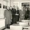 G1771 <br /> De opening nieuwe Openbare School (voorheen gebouw Concordia). In het midden burgemeester jhr. mr. R. Sandberg van Boelens en naast hem het hoofd der school dhr. J. Stellingsma. Geheel links staat G. Verschoor. Foto: 1955.