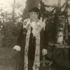 G1818 <br /> Het eeuwfeest 1813-1913, het onafhankelijkheidsfeest. Wethouder B.P. Roest als Gijsbert Karel van Hogendorp (van het bekende driemanschap)  in de historisch-allegorische optocht van 18 september 1913.