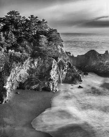 """""""Land of the Lost,"""" McWay Falls, McWay Cove and the Pacific Ocean,"""" Julia Pfeiffer Burns State Park, Big Sur, California"""