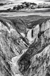 """Force of Nature,"" Lower Yellowstone Falls and the Grand Canyon of the Yellowstone, Yellowstone National Park"