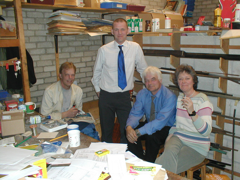Thorncliffe dept staff - John, Steve, Phil and Elizabeth. Missing Chris, Angela and Kath.