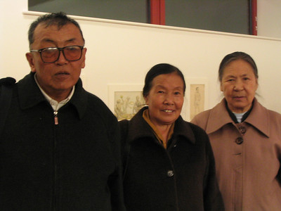 Speakers (left to right) Horkhang Jampa Tendar, Gakyid Yangzom, and Pema Jam.