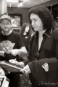 Gene Simmons at Rock Lives On