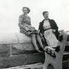 Plaine d'Abraham, 27 juillet 1947 Tita et Gaby Gagnon