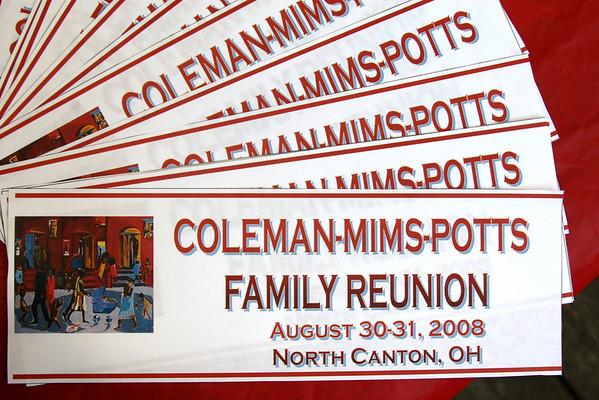 Coleman, Mims, Potts 2008-A