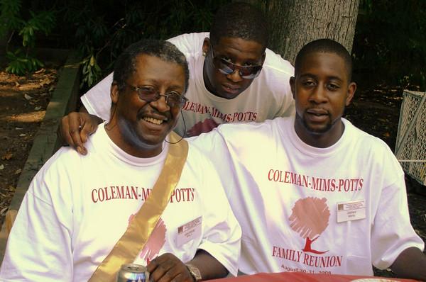 Coleman, Mims, Potts Reunion 2008-C