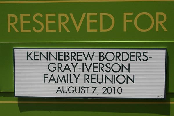 Martha Johnson Families:  Kennebrew, Gray, Borders, Iverson Family Reunion (2010)