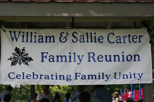William & Sallie Carter Reunion 2008 (Saturday's Picnic)