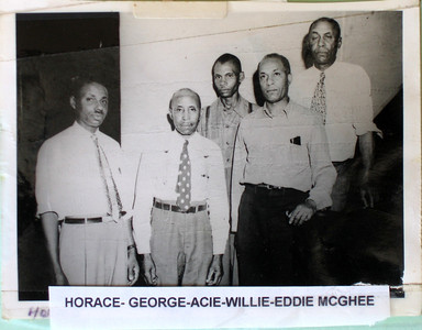 The McGhee brothers and Grandma Manerva's funeral