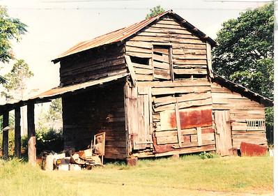 Grandpa Drew barn in Goshen ,AL