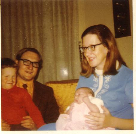 Wellyn Glenn, John Glenn, Laura Glenn, Anjia GlennSeptember 1971