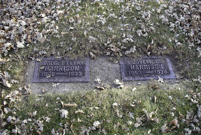 Bridget Flynn Harrison - Daughter of John Flynn and Bridget McCovic and her Husband Lovell Harrison