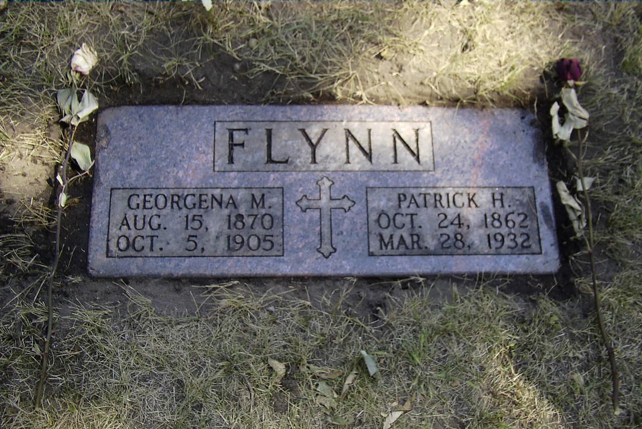 Georgena (Baraggy) Flynn and Patrick Henry Flynn  - Son of John Flynn and Bridget McCovic