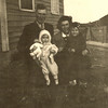 1939 - Dick with Marge, Catherine, Don