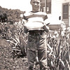 1948-06-09 - Birthday - Grandparents house in background
