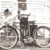 1949-06-09 - Birthday - J.C. Higgins bicycle - with basket big enough to carry newspapers for morning route