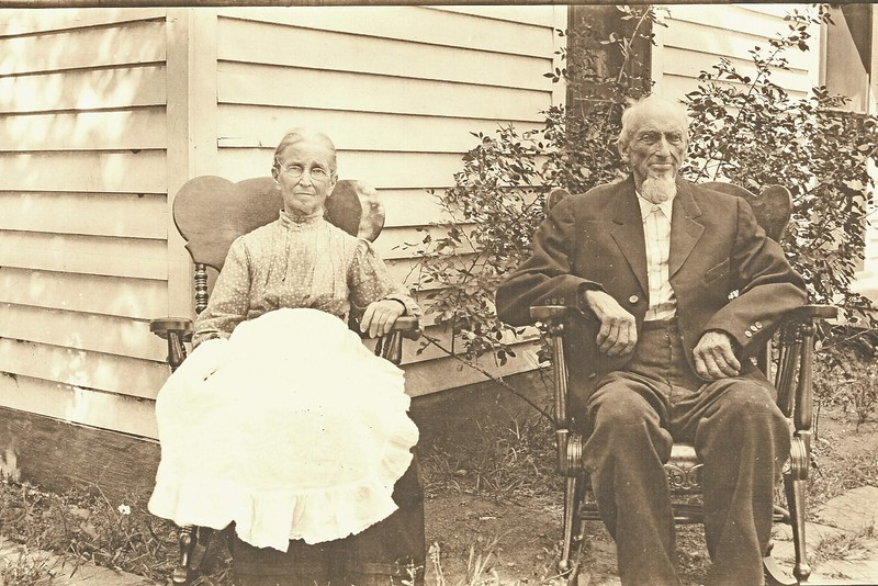 Hannah (Bailey) & Hamilton Portello, parents of Emma (Portello) Barger, grandparents of Pearl Edna (Barger) Voas