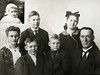 1916 - Mother Pearl, Jack, Bill, Dick, Fern, Father Frank L; insert, Pearl