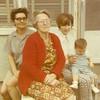 1969-04 - Jean Wright, Cree Wichs, Suzi & Marni - four generations