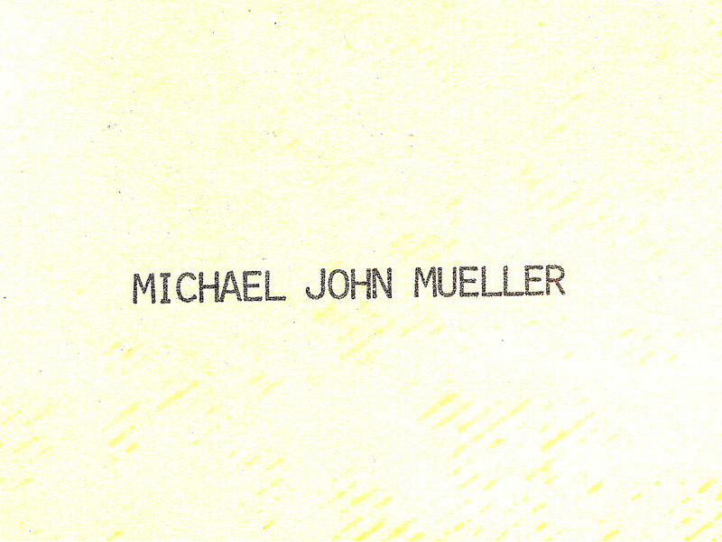 1975-02-09 - Birth announcement - front