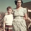 1955-06 - Milly & mom, Catherine Voas
