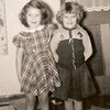 1950 - Connie Miller (friend) and cowgirl Milly