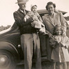 1949 - Jerry with Frank, Pearl, Phyllis