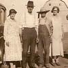 Eda & John Coles, Wm & Blanche Vollenweider