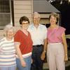 1985 - Catherine Voas, Marian Graham, Dick Voas, Beth Garcia