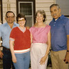 1985 - Russ and Marian Graham, Beth and Nick Garcia