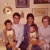 1973 - Keith, Larry, Clarita, Mark, Grandma Alice