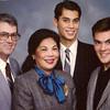 1988 - Larry, Clarita, Mark & Keith