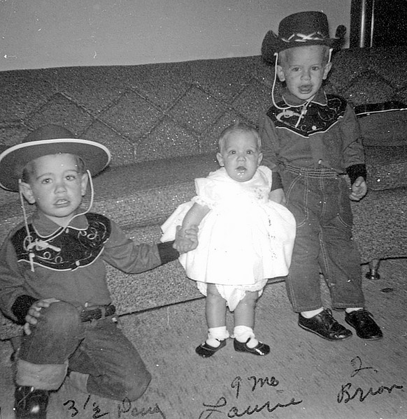 1963 - Doug, Laurie, Brian