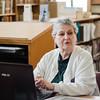 Bonnie Bohnet speaks about the Fitchburg Public Library's genealogy program on Thursday, July 6, 2017. SENTINEL & ENTERPRISE / Ashley Green