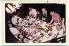 Thanksgiving Dinner 1968<br /> Clockwise from Left:  Ruth Scheinblum, Naomi Rothschild, Fred Scheinblum, Lena Bloom, Dave Bloom, Estelle Rosen, Carl Rothschild, Mervin Rothschild, Sadie Miller