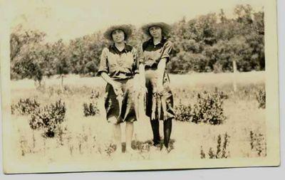 Aunt Jenny uncle Johns sister Kate.