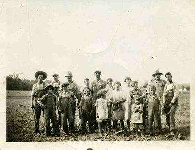 Back of pick says, Well James do you need an introduction to this bunch. Dated 1925, some names Grandpa came up with Uncle Clyde, Frank, Charlie, Jim Orson, Todd