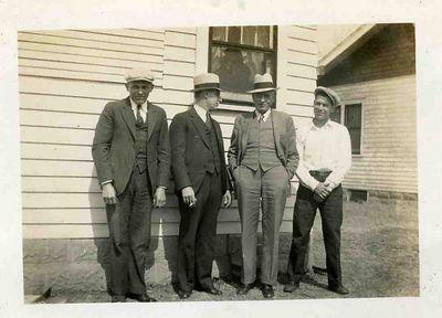 Chris Vott, Britt, John Looman & Jim.