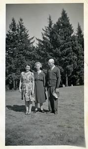 Dora Rea (Day), Hazel Karner, Ray Karner