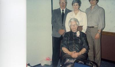 Dwayne Anderson, Gail Gardner, Tyler Anderson & Hazel Karner