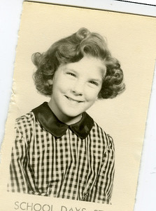Gail Gardner (Anderson) - School Days 57-58