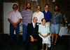 Larry and Anna Belle Haase with five of their sons.